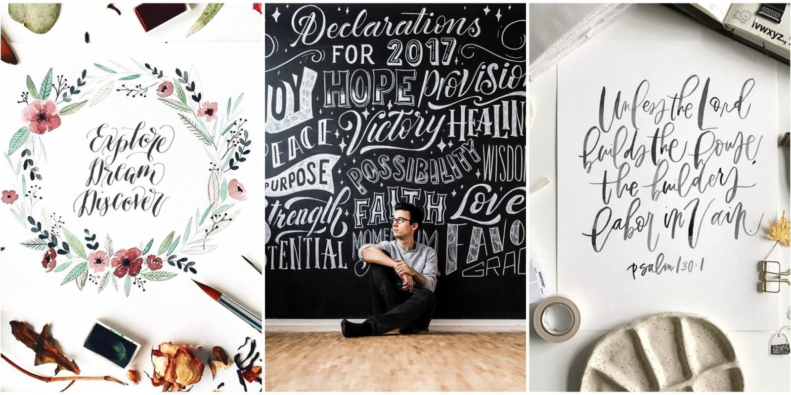 13 Calligraphers You Need to Be Following on Instagram