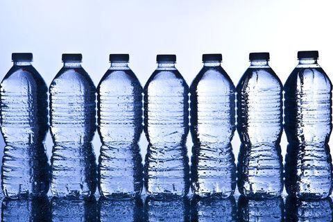 Blue, Liquid, Bottle, Drinkware, White, Plastic bottle, Line, Glass, Cobalt blue, Bottle cap,