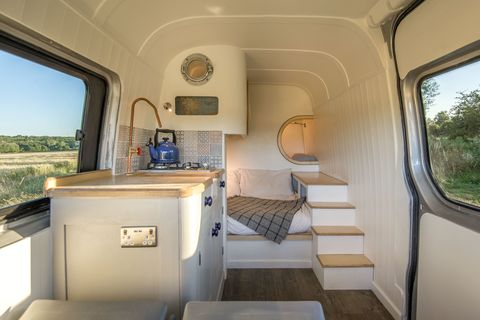 See the Tiny House That Fits Inside a Mercedes-Benz Van