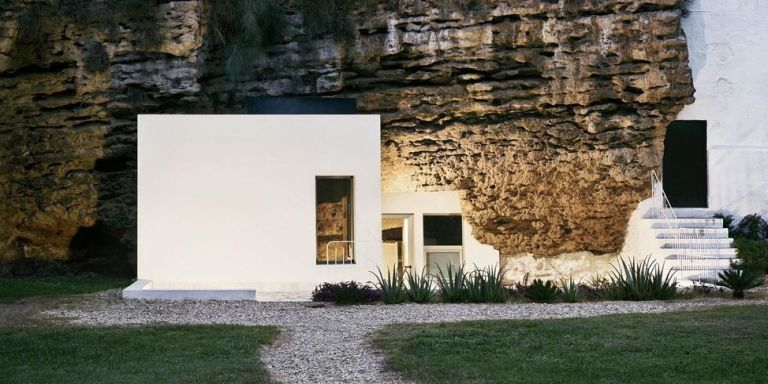 Captivating Cave House