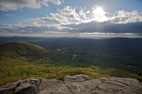 Cloud, Highland, Sunlight, Rock, Cumulus, Bedrock, Terrain, Fell, Outcrop, Sun,