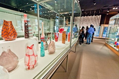 Corning Museum of Glass in New York.