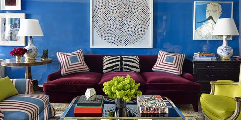 Colorful Apartment Designed by Nick Olsen - Bold Decor Ideas