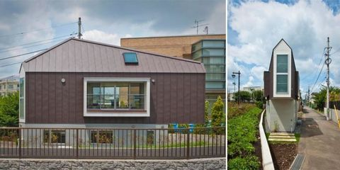 This Extremely Narrow House Is Surprisingly Spacious on the Inside