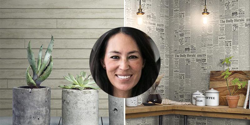 Joanna Gaines New Wallpaper Magnolia Home Shiplap Wallpaper