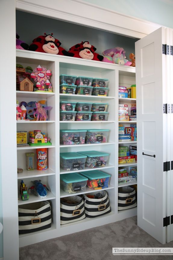 14 genius toy storage ideas for your kid s room diy kids bedroom rh housebeautiful com Food Storage Room Bedroom Storage