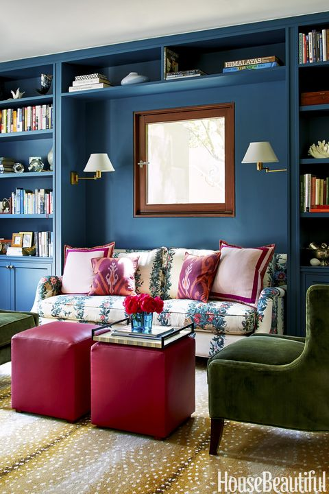 Chloe Warner Blue Reading Nook
