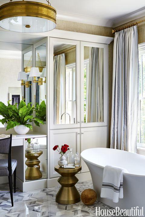 Glam Bathroom By Matthew Quinn