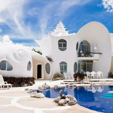The Seashell House - Isla Mujeres, Mexico