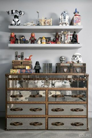 mason disick's bedroom is star wars inspired - look inside kourtney