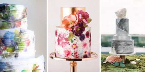Watercolor Cake Is the Dreamiest (and Most Delicious) New Wedding Trend