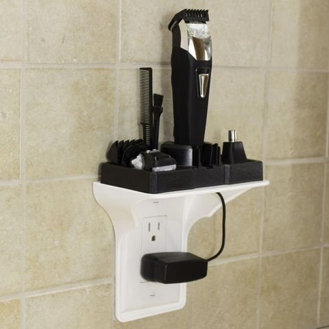 Wall, Bathroom, Room, Bathroom accessory, Shelf, Plumbing fixture, Tile,