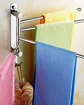Shelf, Shower bar, Towel, Linens, Bathroom accessory, Room, Household supply, Bathroom, Shower rod,