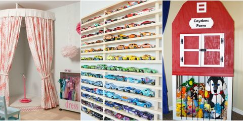 13 Actually Stylish Ways to Organize Your Kids' Never-Ending Toys