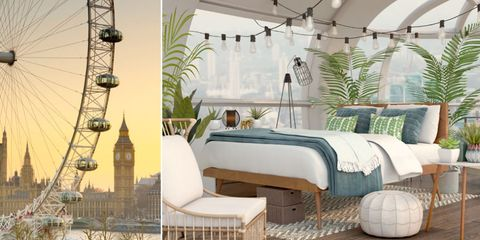 Be the First Person to Ever Stay Inside the London Eye