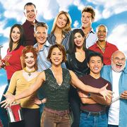 Trading Spaces cast