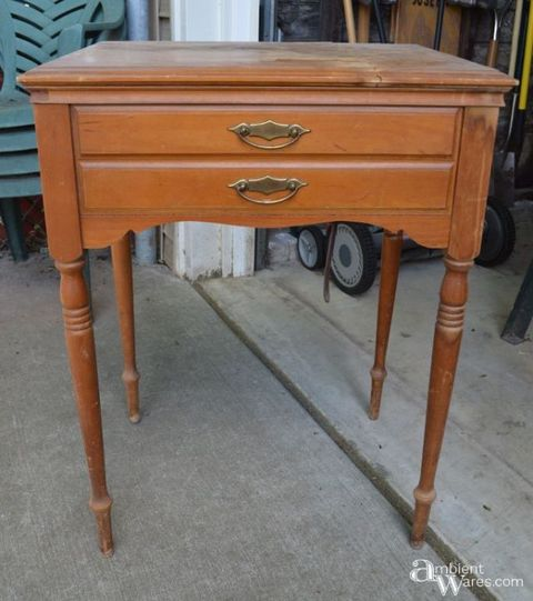 Furniture, Table, Desk, Drawer, Nightstand, Wood stain, End table, Writing desk, Antique, Varnish,