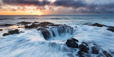 Thor's Well in Oregon