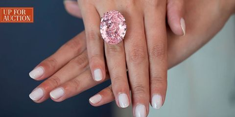 The Largest Flawless Pink Diamond in the World Is Up for Sale