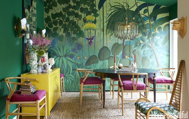 Colorful Dining Chairs Mix Match