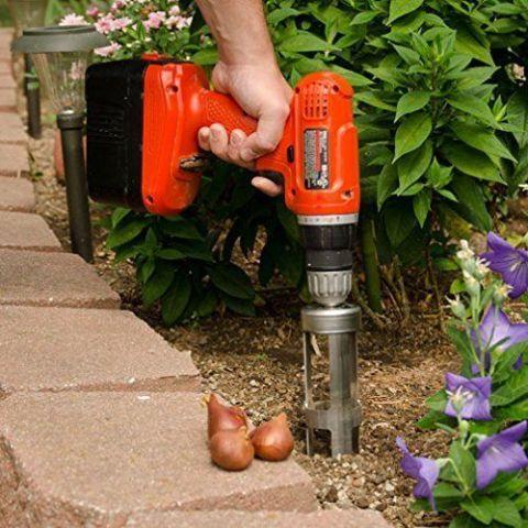 bulb planter tools garden bopper gardening planting drill bulbs amazon tulip gadgets cultivating leonard