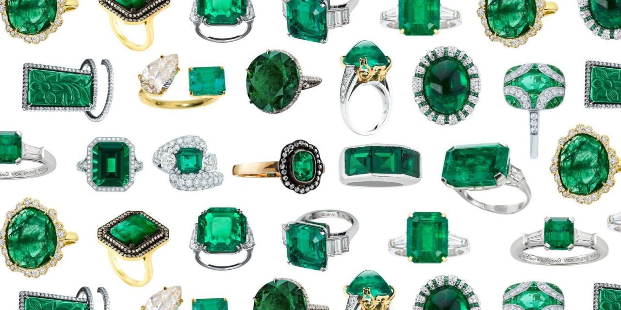 Emeralds Are the New Diamonds When It Comes to Engagement Rings