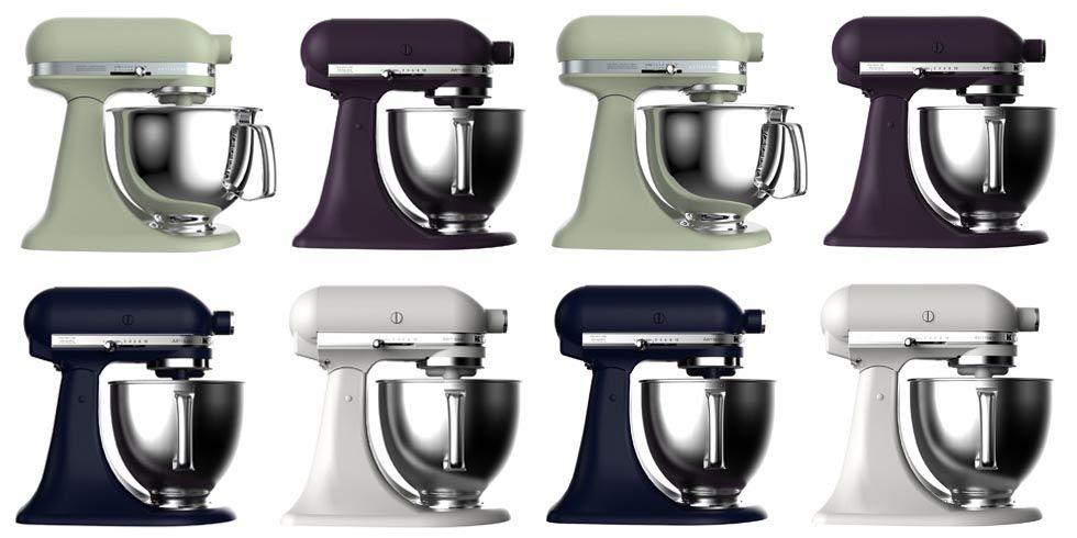 KitchenAid Reveals Four New Mixer Colors - New KitchenAid Colors