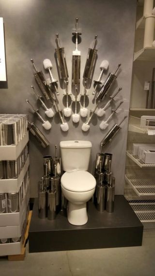 Ikea Bathroom Display Quot Game Of Thrones Quot Inspired
