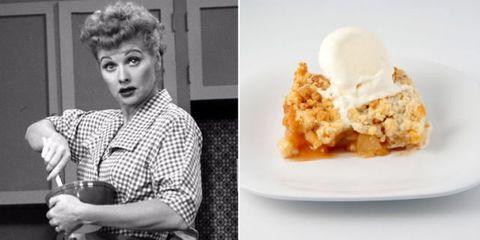 How to Make Lucille Ball's Sweet Apple John