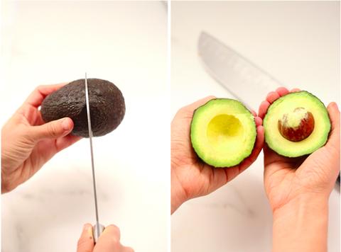 Finger, Food, Fruit, Nail, Ingredient, Produce, Kitchen utensil, Peach, Kitchen knife, Thumb,
