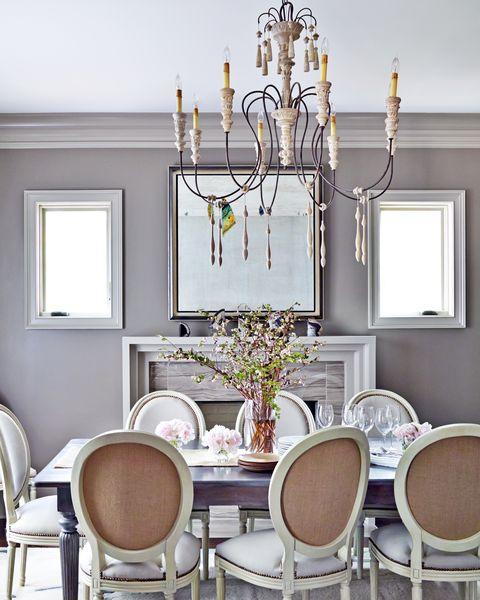 kristin kong mauve dining room