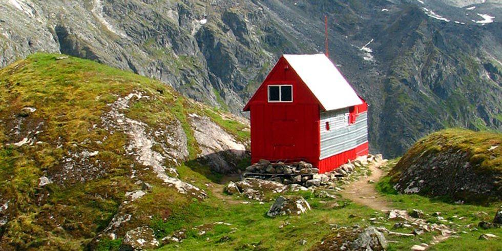 Alaska Mountain Range Huts Free Camping Huts In Alaska