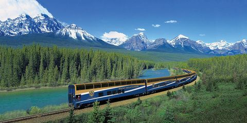 7 of the World's Most Stunning and Scenic Train Rides
