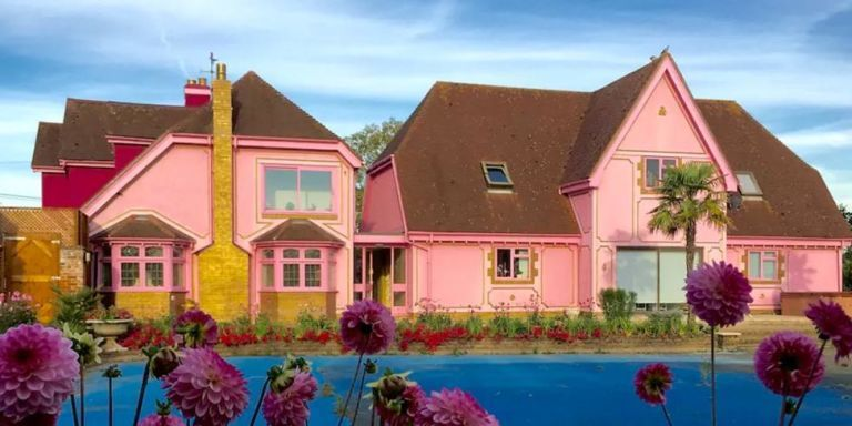 Pink House Tour Real Life Barbie Dream House