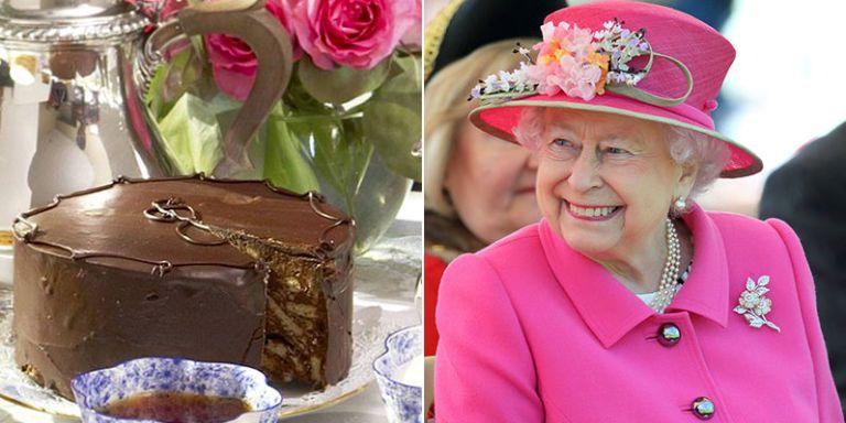 Queen Elizabeth Ii Chocolate Biscuit Cake Cake Queen