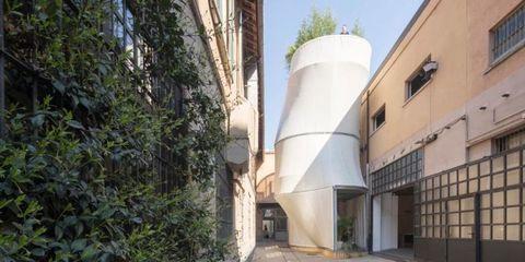 Property, Architecture, Building, Real estate, House, Facade, Apartment, Silo,