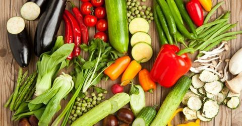 Vegan nutrition, Whole food, Local food, Food, Natural foods, Produce, Vegetable, Food group, Bell pepper, Ingredient,