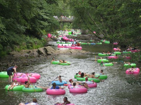 Nature, Water, Water resources, Tubing, Watercourse, Pink, River, Waterway, Leisure, Nature reserve,