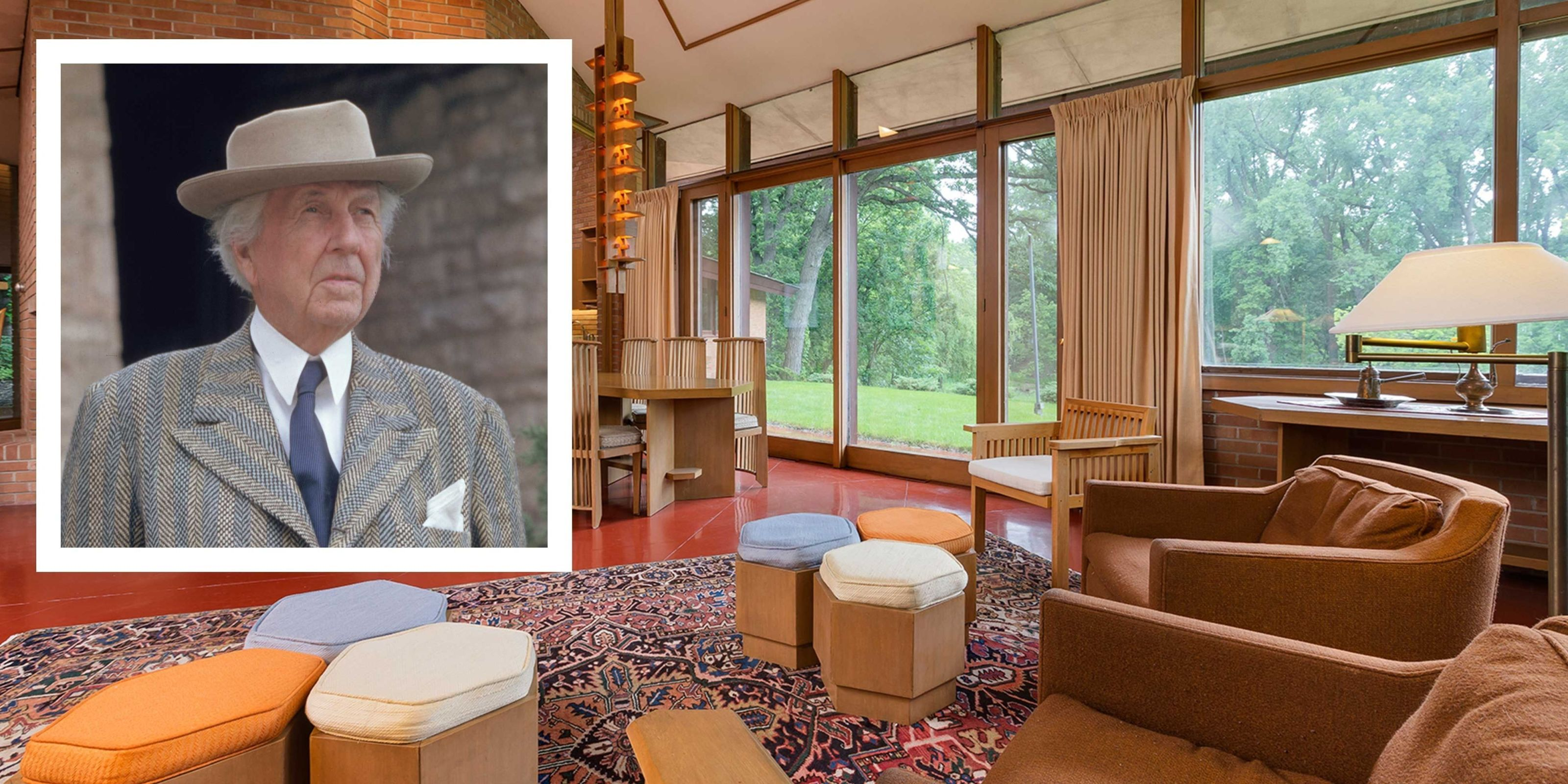 An Untouched Frank Lloyd Wright Home From 1960 Is on the Market