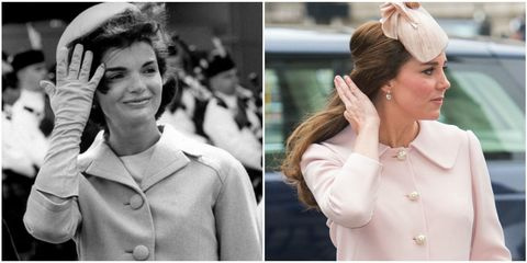 All the Times Kate Middleton Channeled Jackie Kennedy