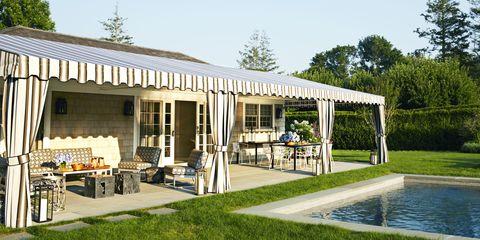 Lisa McFadden Poolhouse Terrace