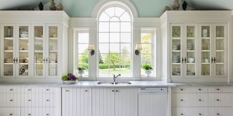 Cabinetry, Room, Furniture, Kitchen, Countertop, Property, Window, Interior design, Ceiling, Building,