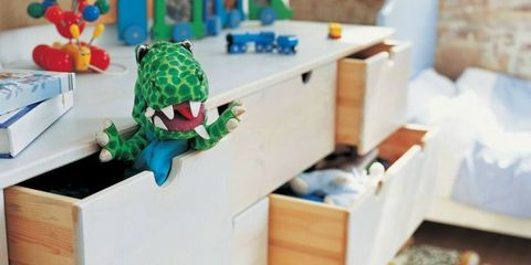 Toy, Baby toys, Plastic, Fictional character, Cabinetry, Stuffed toy, Sideboard, Drawer, Baby Products, Building sets,