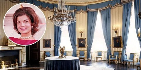 Jackie Kennedy White House Renovation