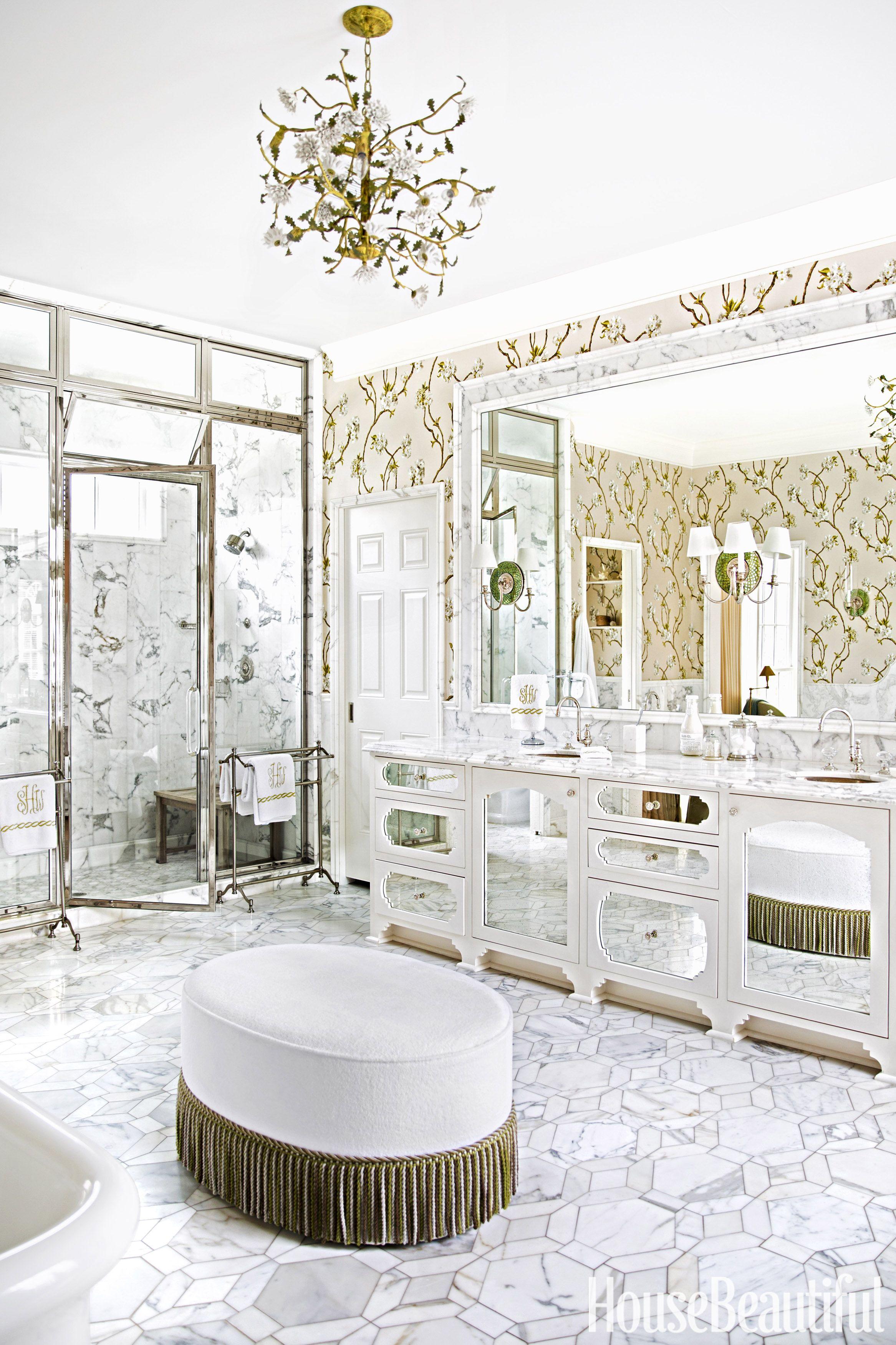 Delightful Master Bathroom By Celerie Kemble And Lindsey Herod
