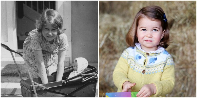All The Times Princess Charlotte Looked Just Like Queen Elizabeth