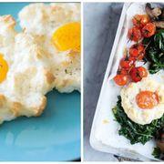 Dish, Food, Cuisine, Fried egg, Brunch, Ingredient, Meal, Egg, Comfort food, Breakfast,