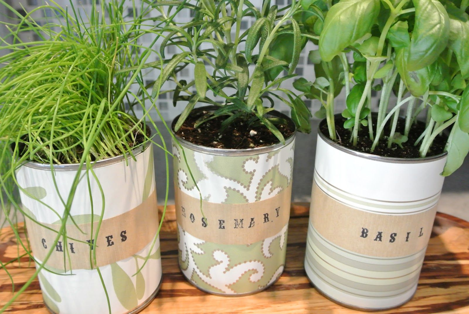 15 indoor herb garden ideas - kitchen herb planters