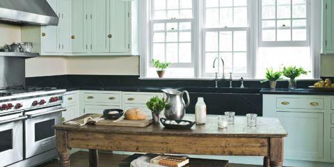 30 Best Kitchen Paint Colors - Ideas for Por Kitchen Colors Kitchen Decoration Ideas With Green Paint on green painted kitchen cupboards, white country kitchen designs ideas, lime green kitchen ideas, green country kitchen ideas, blue and green kitchen ideas, lavender kitchen ideas, green kitchen house, light green kitchen ideas, green doors ideas, green kitchen backsplash ideas, black and green kitchen ideas, green paint in kitchen, green kitchen feng shui, kitchen wall color ideas, green kitchen remodeling ideas, green kitchen design ideas, green carpet ideas, benjamin moore kitchen color ideas, kitchen painting ideas, green kitchen colors,