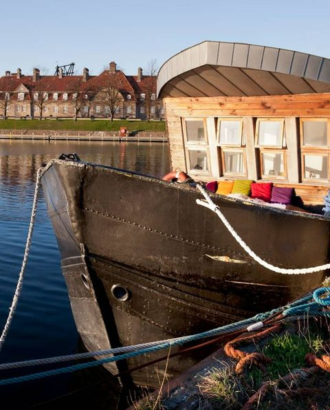 danish houseboat